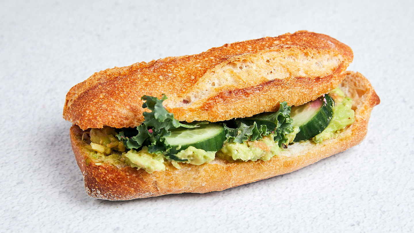 vegan Avocado Sandwich - Coucou Food Market