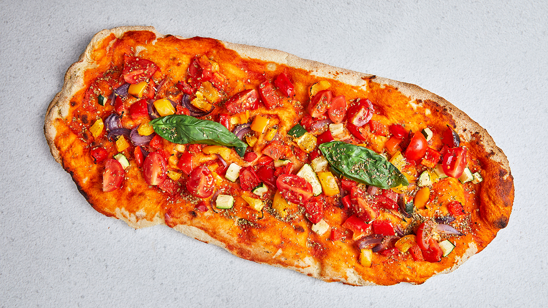 vegan Pinsa Verdure - Coucou Food Market