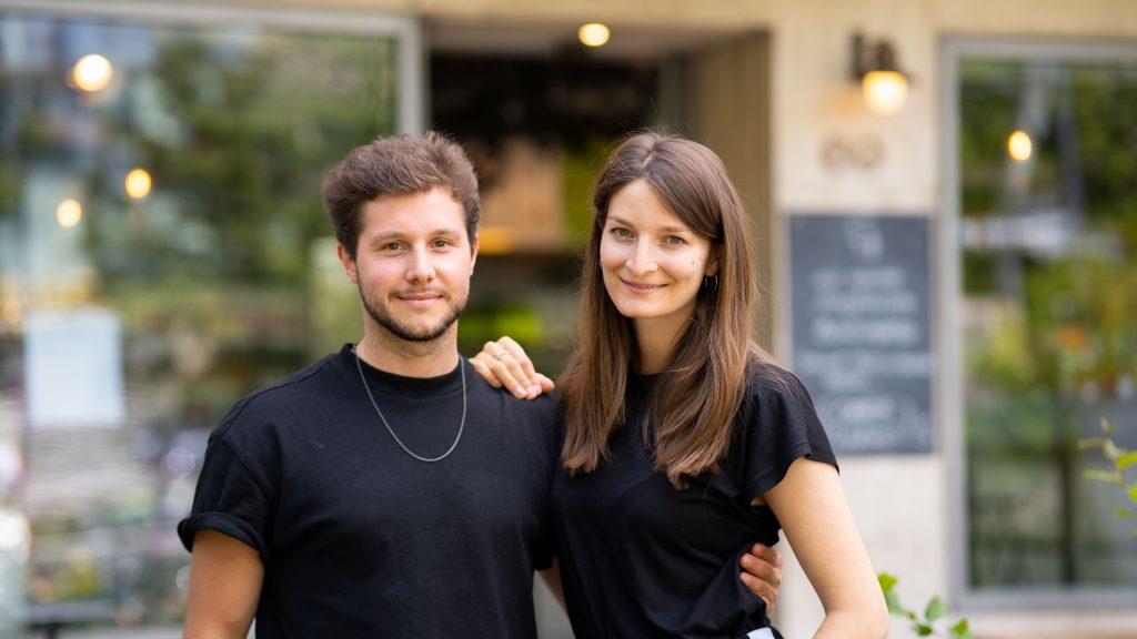Denis Leoncelli und Marie Schultz - Coucou Food Market